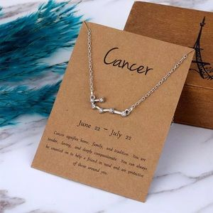 NEW!! ♋️ Cancer Constellation Necklace